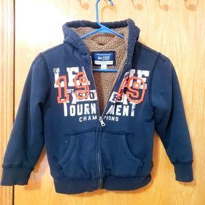 Boy's Sherpa Lined Hooded Jacket